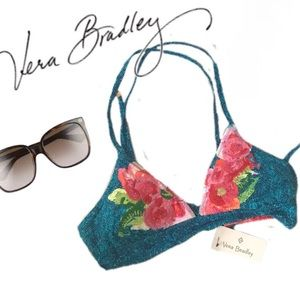 Authentic NWT Vera Bradley Tropical Bikini Top